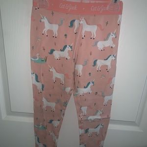Toddler Girls Cat & Jack Unicorn Bottoms Size 8